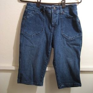 ST. JOHNS BAY womens denim shorts